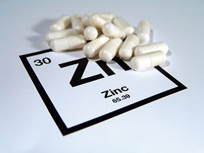 symptoms of a zinc deficiency