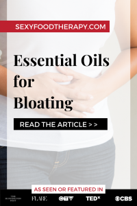 Essential Oils For Bloating Pin